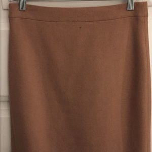 J.Crew The Pencil Skirt (camel color)